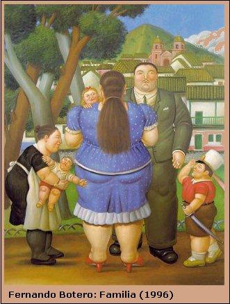 Fernando Botero: Família 1996