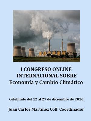 ACTAS DEL CONGRESO SOBRE ECONOMÍA Y CAMBIO CLIMÁTICO