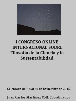 ACTAS DEL CONGRESO SOBRE FILOSOFIA DE LA CIENCIA Y SUSTENTABILIDAD