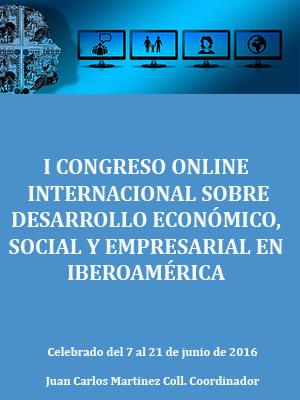 I CONGRESO ONLINE SOBRE DESARROLLO ECONÓMICO, SOCIAL Y EMPRESARIAL EN IBEROAMÉRICA