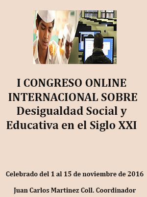 ACTAS DEL CONGRESO SOBRE DESIGUALDAD SOCIAL Y EDUCATIVA EN EL SIGLO XXI