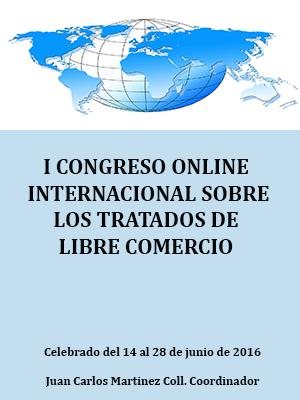 I CONGRESO ONLINE SOBRE LOS TRATADOS DE LIBRE COMERCIO