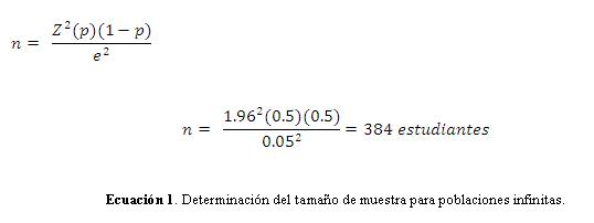 para determinar la muestra de una poblacion: