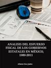 Portada de la tesis gratuita sobre An�lisis del esfuerzo fiscal de los gobiernos estatales en M�xico