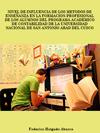 Portada de la tesis gratuita nivel de influencia de los metodos de ense�anza