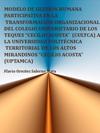 Portada de la tesis gratuita Modelo de gesti�n humana participativa en la transformaci�n organizacional