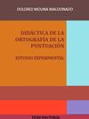 Portada de la tesis gratuita Didáctica de la ortografía de la puntuación